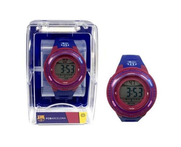 Reloj de pulsera FC Barcelona digital infantil