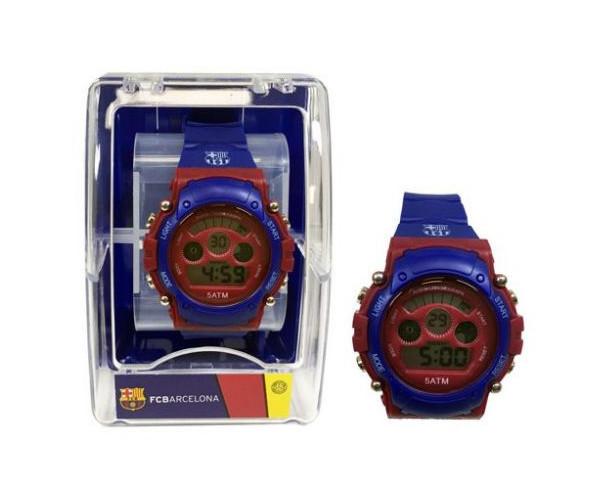 Reloj FC Barcelona de pulsera infantil digital