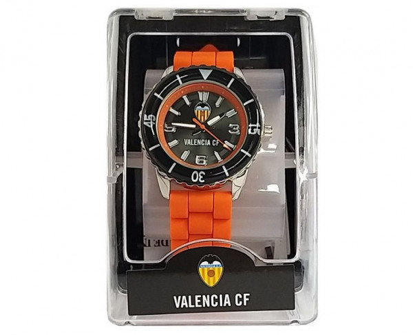Reloj de pulsera infantil Valencia CF correa de caucho