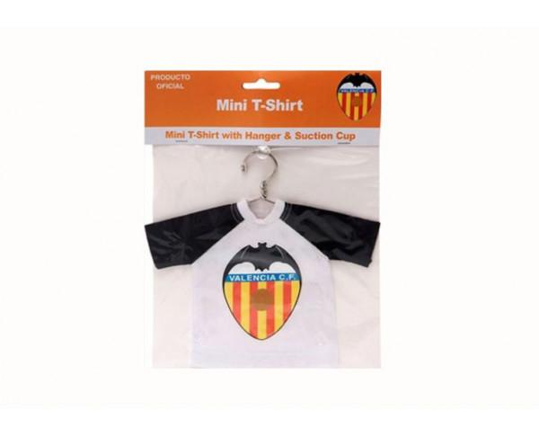 Mini camiseta con ventosa del Valencia CF