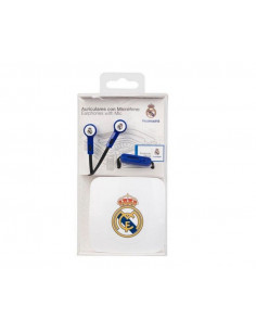 Auriculares con micrófono Real Madrid con cajita