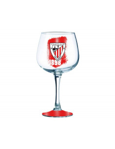 Copa grande de cristal Athletic Club Bilbao gin tonic