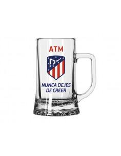 Jarra de cristal Atlético de Madrid Legend pequeña