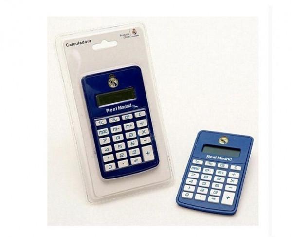 Calculadora oficial Real Madrid de bolsillo pequeña
