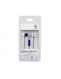 Auriculares con micrófono Stéreo Real Madrid