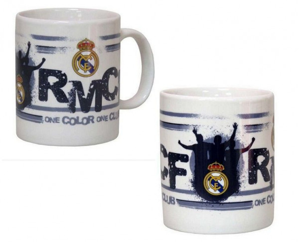 Taza Real Madrid de porcelana One Color One Club