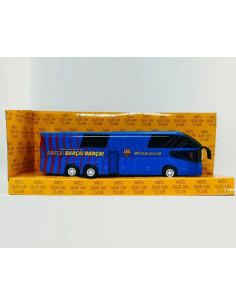 Autobús metálico en miniatura Oficial FC Barcelona