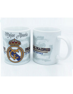Taza de porcelana Oficial Real Madrid Mejor Abuelo