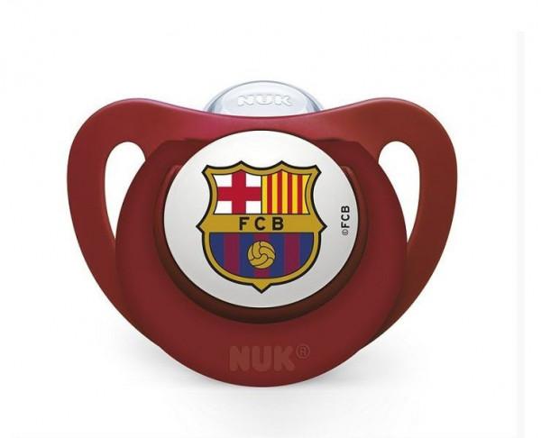 Chupete para bebés FC Barcelona grana 0 a 6 meses