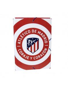 Carpeta solapas del Atletico Madrid tamaño folio