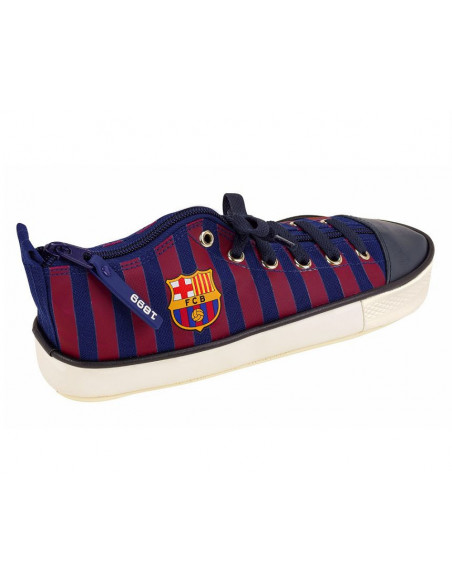 Estuche portatodo FC Barcelona zapatilla deportiva