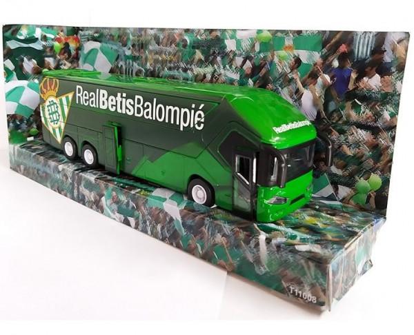 Autobús réplica a escala del Real Betis