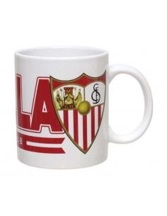 Taza de porcelana del Sevilla FC