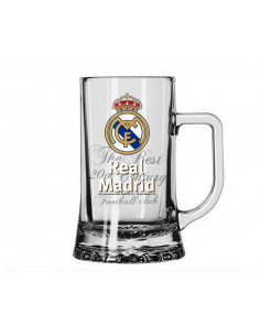 Jarra de cristal para cerveza Real Madrid The Best Club World