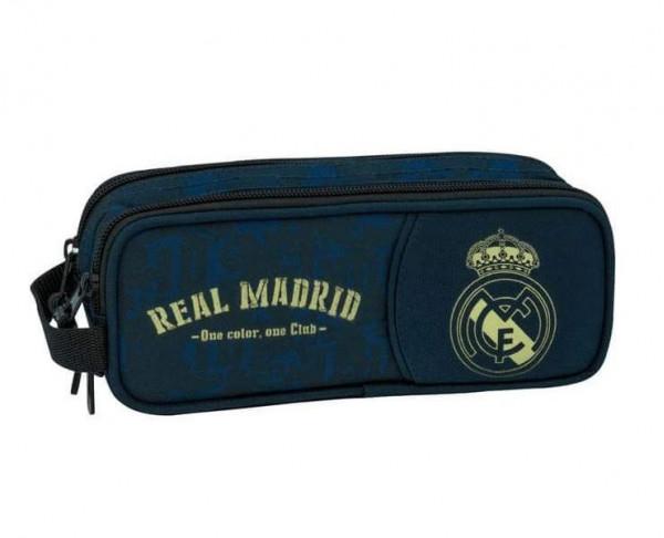 Estuche Real Madrid dos compartimentos One Color