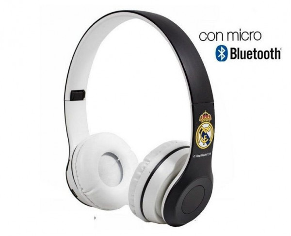 Auriculares casco inalámbrico Real Madrid