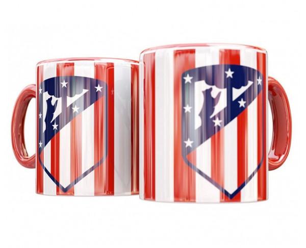 Taza de porcelana Atlético de Madrid bandera