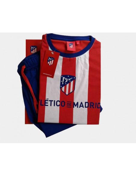 Pijama Atlético de Madrid infantil manga larga 2019