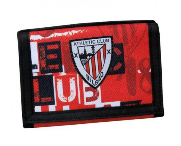 Cartera billetero Athletic Club Bilbao con monedero y tarjetero