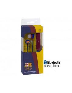 Auriculares bluetooth FC Barcelona stéreo y micrófono