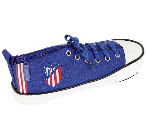 Estuche zapatilla deportiva Atlético de Madrid