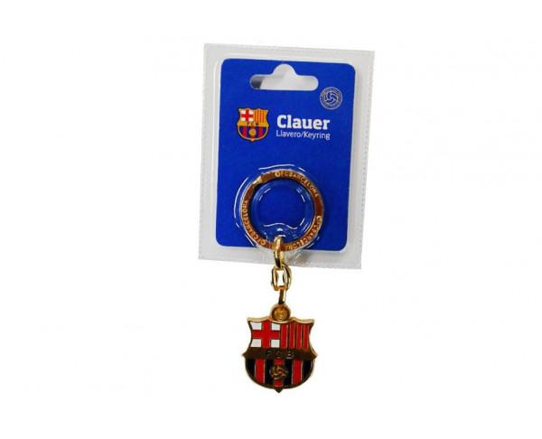 Llavero FC Barcelona escudo dorado