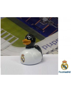 Patito de goma del Real Madrid para jugar en la bañera