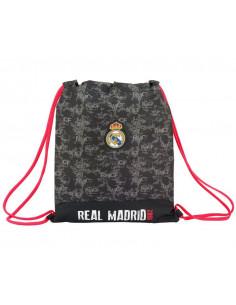 Saco Real Madrid diseño deportivo para la espalda