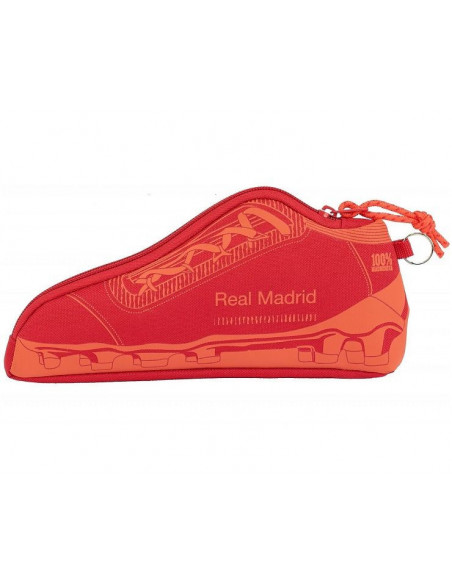 Estuche portatodo zapatilla coral Real Madrid