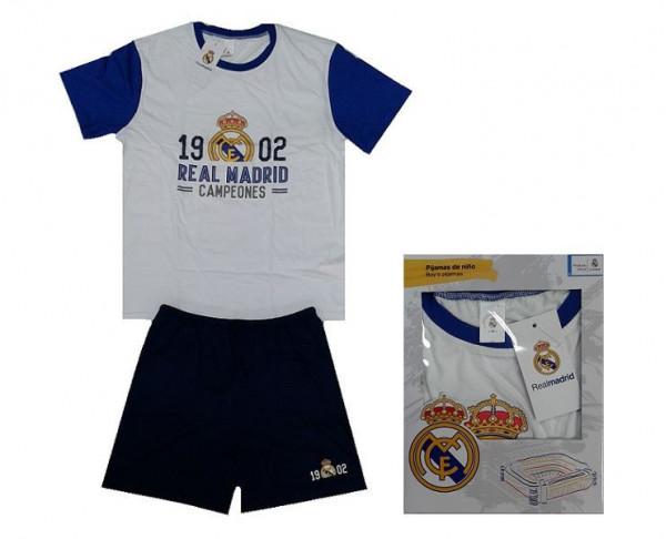Pijama infantil de verano manga corta Real Madrid
