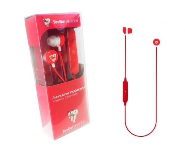 Auriculares inalámbricos botón del Sevilla FC