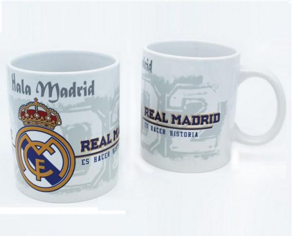 Taza de porcelana del Real Madrid Hala Madrid