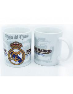 Taza de porcelana del Real Madrid Mejor del mundo