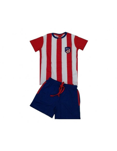 Pijama infantil de verano manga corta Atlético de Madrid