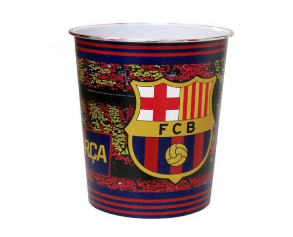 Papelera Oficial del FCBarcelona de plástico rígido