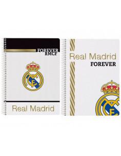 Cuaderno pequeño Real Madrid tamaño cuartilla