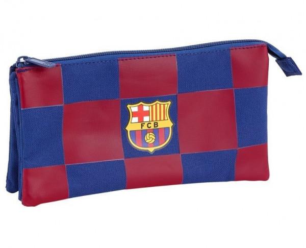Estuche tres compartimentos FC Barcelona Corporativa