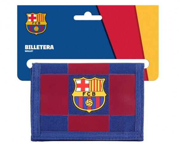 Billetero con monedero FC Barcelona Blaugrana