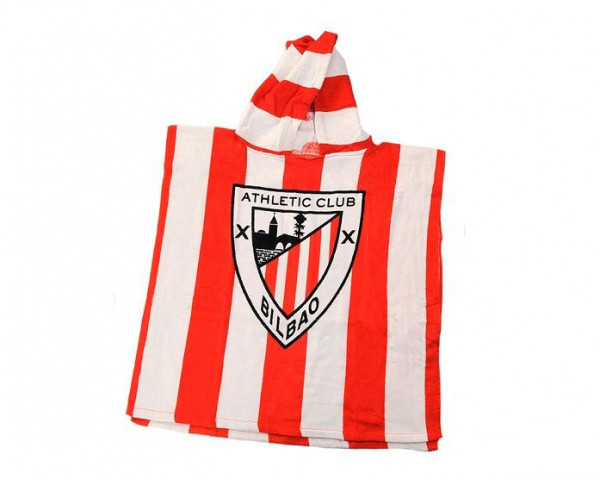 Toalla con capucha para bebés Athletic Club  Bilbao