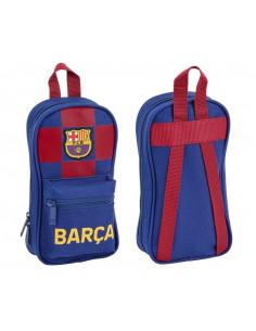 Mini mochila multiestuche FC Barcelona con accesorios