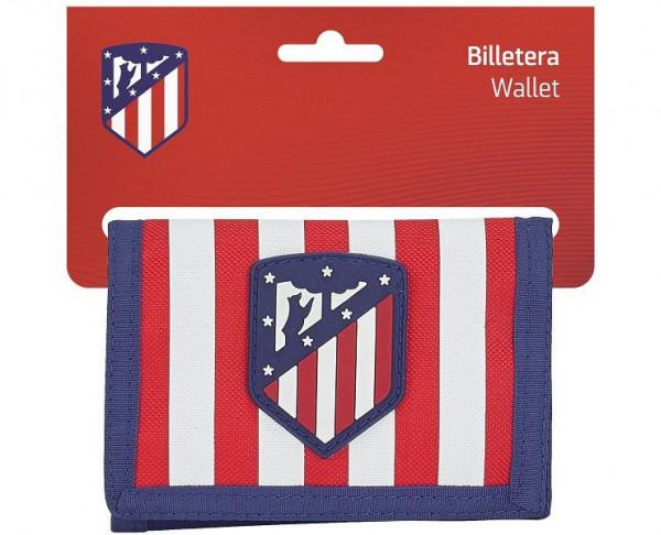 Billetera monedero Atlético de Madrid Coraje y Corazón
