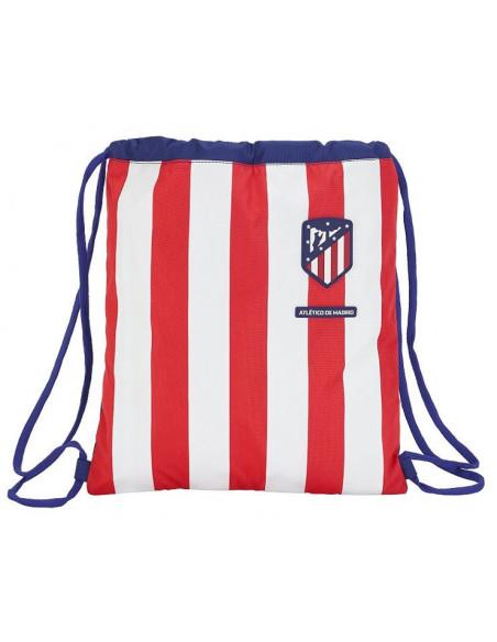 Saco plano para la espalda Atlético de Madrid rojiblanco