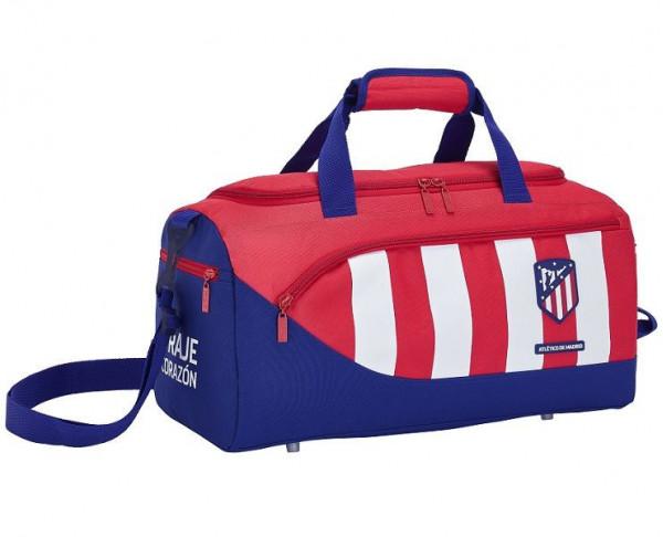 Bolsa grande de deporte Atlético de Madrid rojiblanca