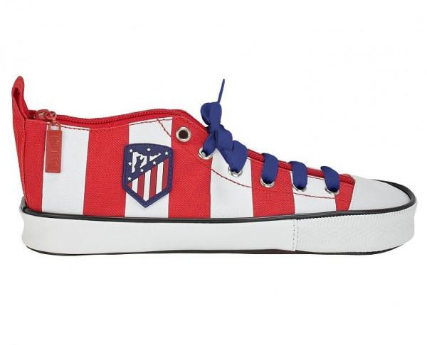 Estuche escolar zapatilla deportiva Atlético de Madrid
