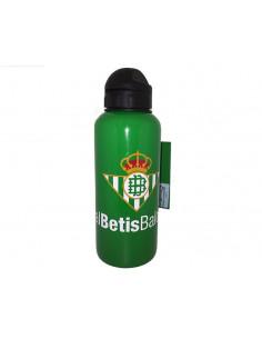 Cantimplora metálica de aluminio del Betis