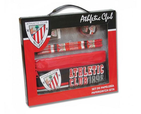 Conjunto escolar del Athletic de Bilbao en caja de regalo