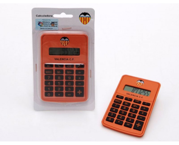 Calculadora de bolsillo del Valencia CF