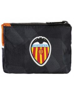 Monedero de tela con cierre de cremallera Valencia CF 2020