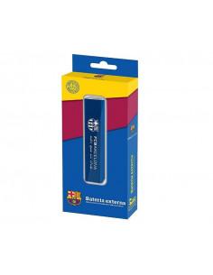 Batería externa recarga 2200 mAh FC Barcelona