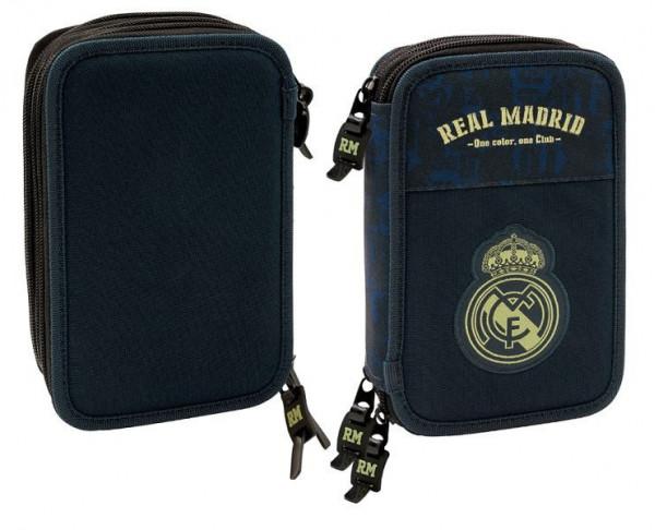 Estuche escolar Real Madrid con 41 piezas en su interior